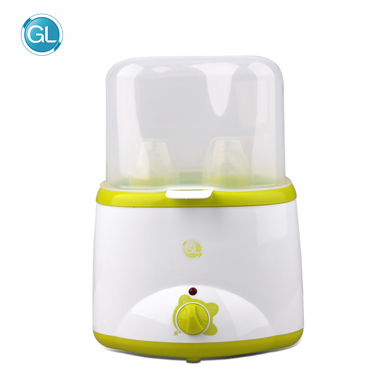 GL Multi-function Milk Bottle Warmer Dual Babies Milk Feeding Bottles Warmer Heater Sterilizer Multi-functional Baby Food Heater