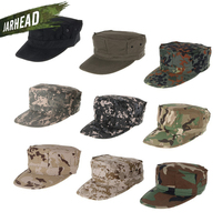 Outdoor Camouflage Mens Military Octagon Hat Army Ranger RipStop Soldier Cap Combat Hats