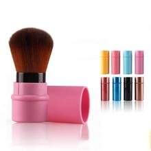 Mini Retractable Foundation Makeup Powder Cosmetic Blush Beauty Brushes Travel