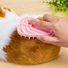 Dog Cat Grooming Shedding Shampooing Rubber Zoom Groom Wet Dry Massaging Brush Cute Small Delicate Combs Hot New