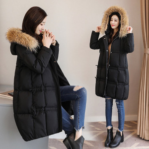 Image 2 - 2018 new Ladies casual cotton padded clothes Winter cap cotton padded clothes