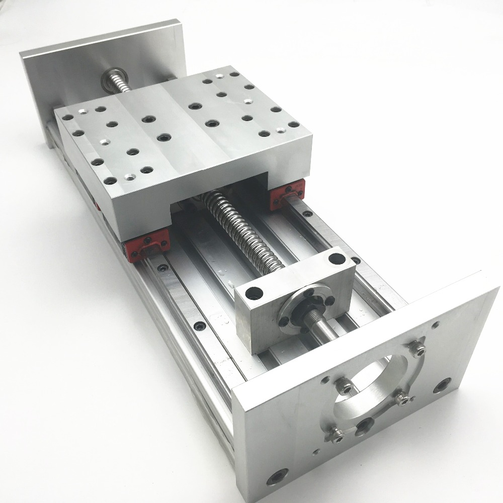 1 Set Asembled CNC Z AXIS ACTUATOR 200mm TRAVEL Heavy Load For CNC DIY Milling Drilling Support Nema23 And Nema34 Motor