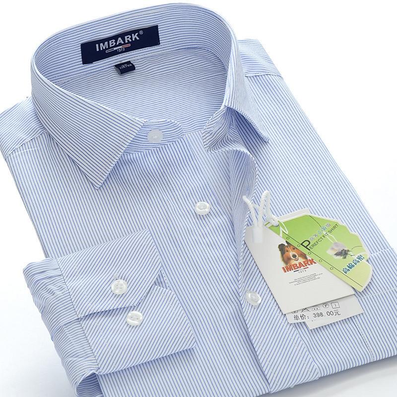 Men's business casual long-sleeved shirt