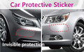 Car Bumper Protective Film 4pcs/set Membrane Rhino Skin Transparent Auto Paint Protective Sticker Anti Collision Automotive Film