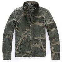 Real Pictures European Mens Coats Plus Size Camouflage Mens Jacket Coats American Flight Mans Jacket Camouflage Overcoats B697