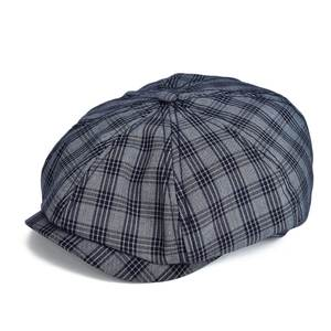 quality design e3794 cba15 VOBOOM Flat Men Plaid Newsboy Caps Cabbie Summer Hats