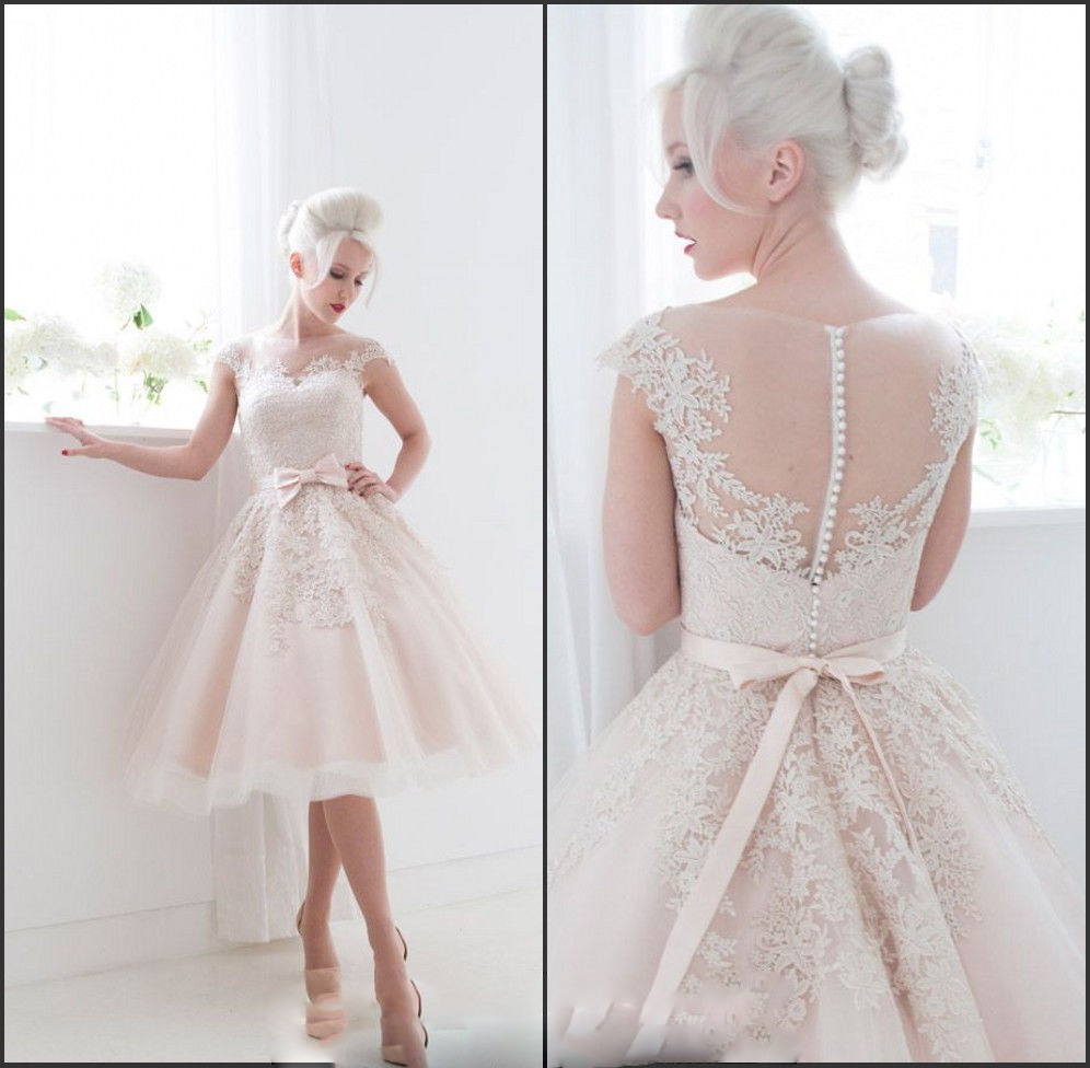60s+wedding+dresses+style 60's wedding dress 60s Wedding Dress Styles 60s Bone White Lace Romantic
