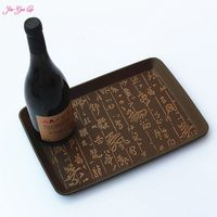 Plastic Tray Plastic Tray Tea Tray European Leather Antiskid Guest Rooms Offer Tea Tray 32 22