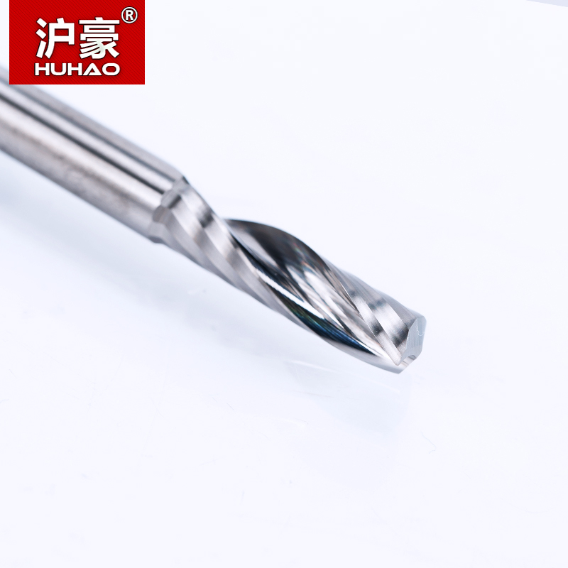 HUHAO 1 PC 6mm jeden Flet Spiralny Frez Frez Frez CNC do frezów z - Obrabiarki i akcesoria - Zdjęcie 2