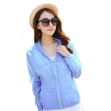 2018 Summer Quick Dry Anti Uv Women's Jackets Transparent Female Coat Ultra Thin Breathable Women Clothing 66