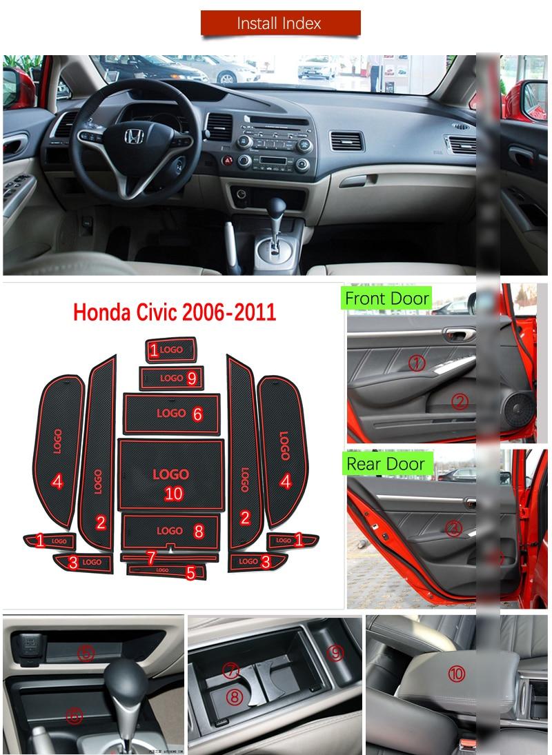CIVIC REAR CHROME CAR EMBLEM BADGE FIT FOR 8TH GEN CIVIC FA FD 2006-2011