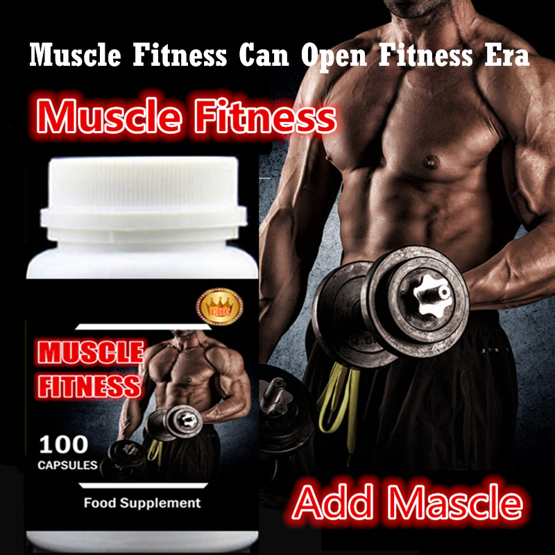 2 bottle 200pcs,Muscle Fitness Fast and Easy Add Muscle