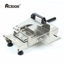 ST100A нержавеющая сталь ручной слайсер для замороженного мяса, RCIDOS ручка для резки мяса, Овощная говядина, баранины рулоны машина