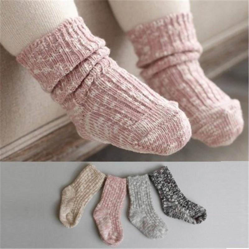Baby Socks Non-Slip Newborn Toddler Infant Girls Boys Kids Fashion Months Lovely Soft