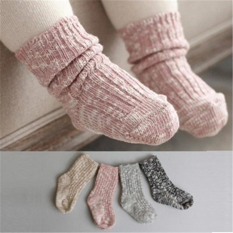0 24 Months Baby Socks Lovely Soft Newborn Toddler Infant Kids Girls Boys Non Slip Socks Fashion