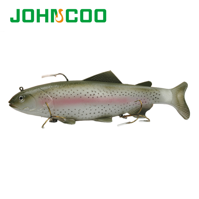 New 30cm/380g Saltwater Soft Baits Fishing Lure Plastic Big Sea Lure isca artificial Pesca Silicone Bait  Fishing Tackle