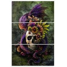 Sale 3pcs/set 5d diamond painting lion deer owl full square drill animal 3d diy cross stitch pattern