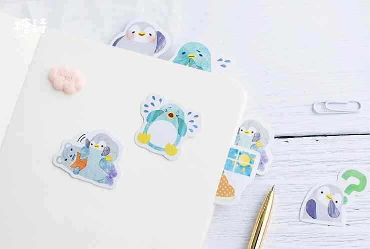 Pinguin милый стикер мультфильм животное Пингвин стикер набор 45