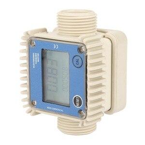 Image 2 - デジタルK24タービン流量計ディーゼル燃料流量計10 120L/最小流量計測定ツール化学物質水海ブルーホット
