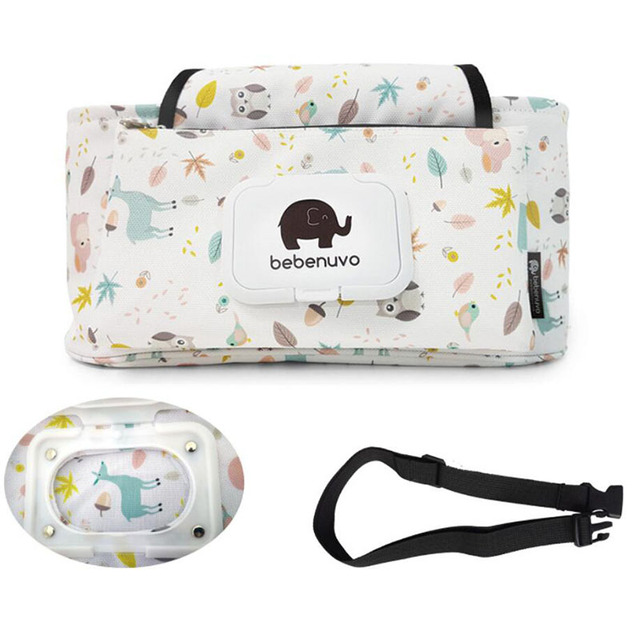 New Baby Stroller Bag Large Capacity Hanging Storage Basket Stroller Organizer Travel Mummy Diaper Bags Stroller Accessories