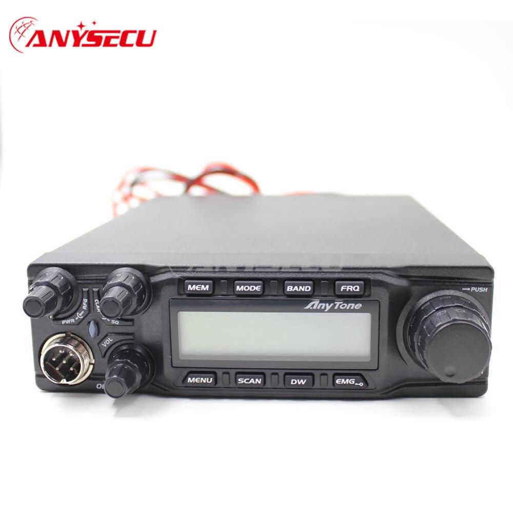 Grand ÉCRAN LCD affiche À-6666 AM FM USB LSB PW CW 10 mètre 28.000-29.700 mhz 40 canaux radio + câble de Programme
