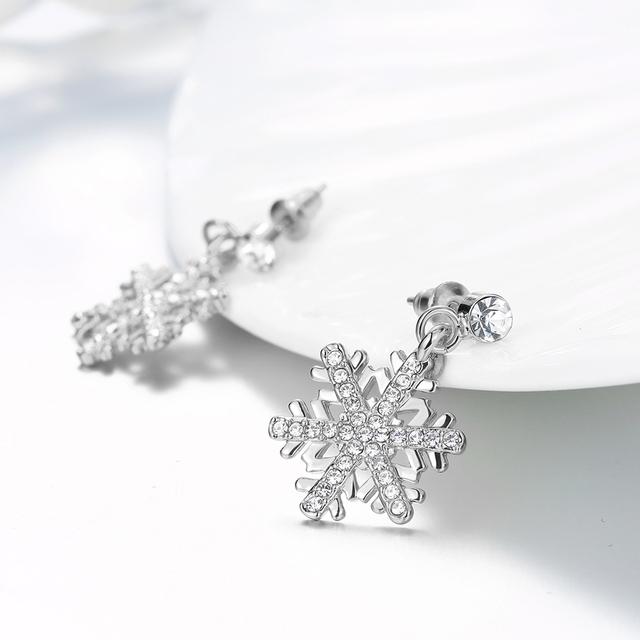 Snowflake Stud Earrings for Women