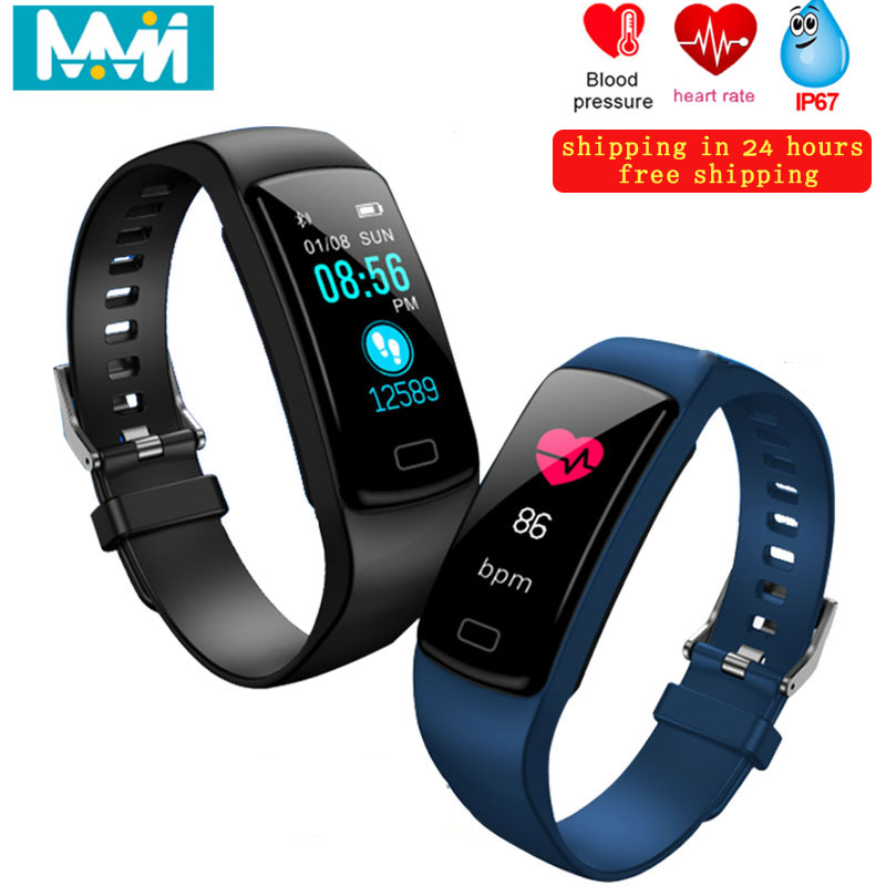 Y5 Smart Wristband Y9 Pedometer Sports Band Blood Pressure Heart Rate Monitor Fitness Bracelet Activity Tracker Watch For Ios Limpid In Sight Smart Wristbands