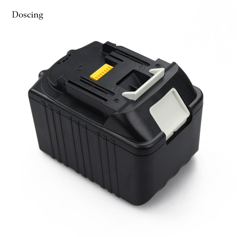 New 6000mAh Rechargeable Lithium Ion Packs Replacement Power Tool Battery for Makita 18V BL1830 BL1840 BL1850 BL1860 LXT400 5pcs lithium ion 3000mah replacement rechargeable power tool battery for bosch 36v 2 607 336 003 bat810 bat836 bat840 36 volt