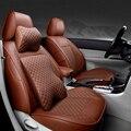 (Vorne + Hinten) spezielle Leder autositzbezüge Für Volkswagen vw passat polo golf tiguan touareg jetta auto accessorie styling