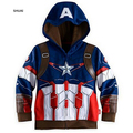 New The Avengers Boys Coat Autumn And Spring Cotton Kids Jacket Children Hansome Hooded Casual Outerwear Kids Clothing