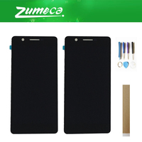 For Philips Xenium S386 LCD Display +Touch Screen Digitizer Assembly Black Color With Tools& Tape