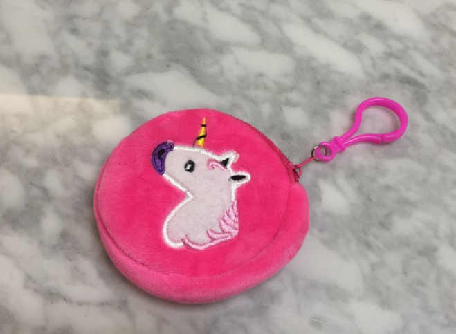 Nowy mały 8CM mini kluczyk hak koń dla dzieci torba na monety, mała dziewczynka jest pluszowa torebka na monety torebka, mini kieszonka na monety etui torba