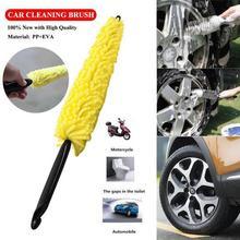 Щетка для автомобильного колеса с пластиковой ручкой, щетка для чистки автомобиля, диски для мытья шин, щетка для мытья Авто, щетка для мытья автомобиля, губки, инструменты для ухода за ободом