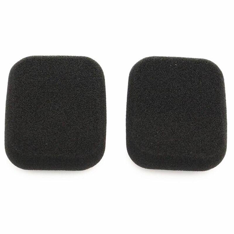 Linhuipad 50mm Square foam ear pads Replacement ear cushions Foamsponge  covers for FORM2 headphone 2pair /lot free shipping