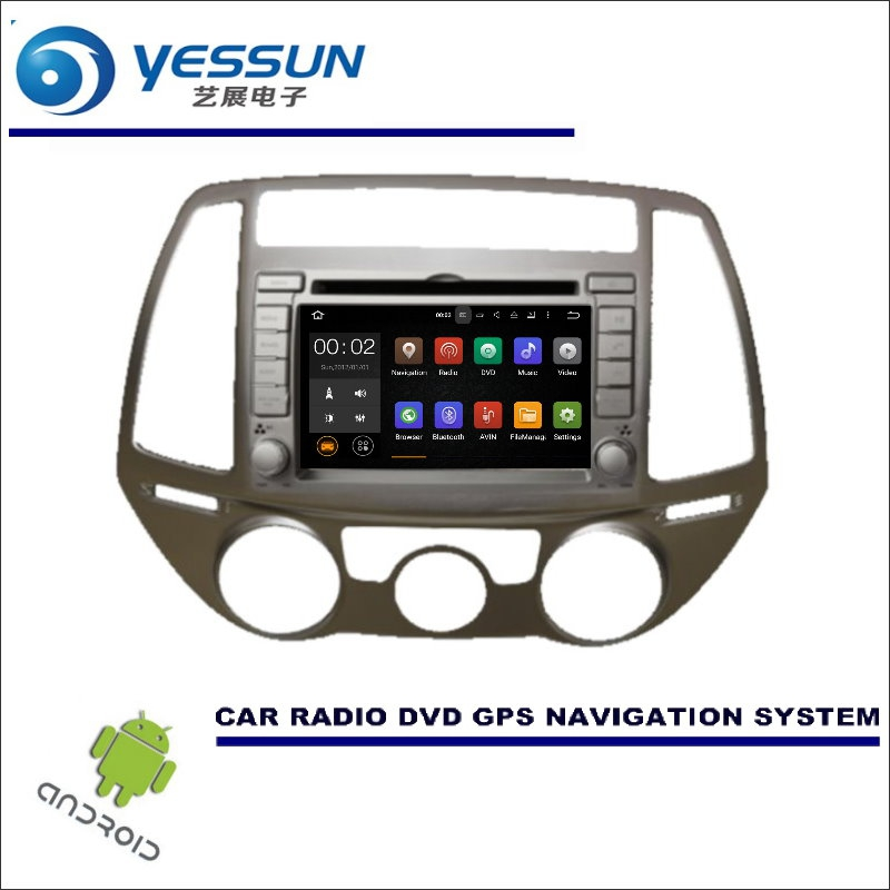 YESSUN For Hyundai I20 2008~2013 - Car Multimedia Navigation System CD DVD GPS Player Navi Radio Stereo HD Wince / Android yessun car android navigation system for hyundai i20 click 2008 2014 radio stereo cd dvd player gps navi screen multimedia