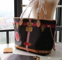 2018 Новый Изумрудный из натуральной кожи neverful сумка женская сумка GM/мм с хорошим качеством сумки мм Сумка Бесплатная доставка