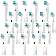 20 PCS Replacement Toothbrush Heads for Oral-B 3D White Toothbrush Heads Compatible with Oral-B Electric Toothbrush