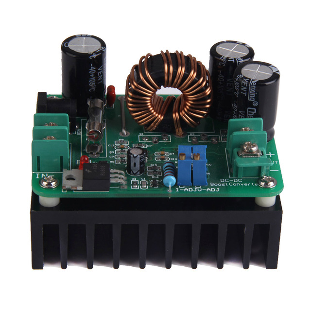 Newest Boost Converter Step-up Module Power Supply 600W DC-DC 10V-60V to 12V-80V