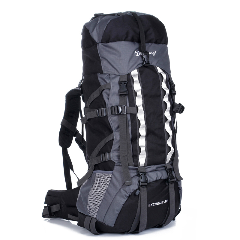 80L Outdoor Backpack Unisex Travel Multi-purpose Climbing Backpacks Hiking Big Capacity Rucksacks Camping Sports Bags mountec large outdoor backpack travel multi purpose climbing backpacks hiking big capacity rucksacks sports bag 80l 36 20 80cm