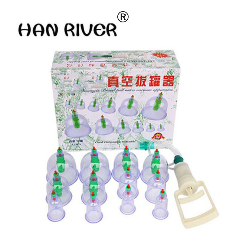 12 Unids/set Empty Doctor Masajeador Acupuncture Hijama Catacion Magnetic Body Massage Therapy For Household Physiotherapy Close