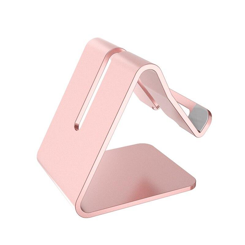 Aerdu Aluminum Metal Phone Tablet Holder Desktop Universal Non slip Mobile Bracket Stand Holder for iPhone7 8iPad For SamsungS9 in Phone Holders Stands from Cellphones Telecommunications