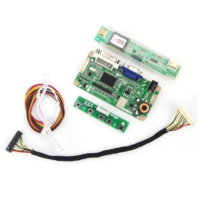 15.4 дюймов 1280*800 Для LP154W01 (A3) LTN154X3-L01 ЖК Плата Контроллера (VGA и DVI)