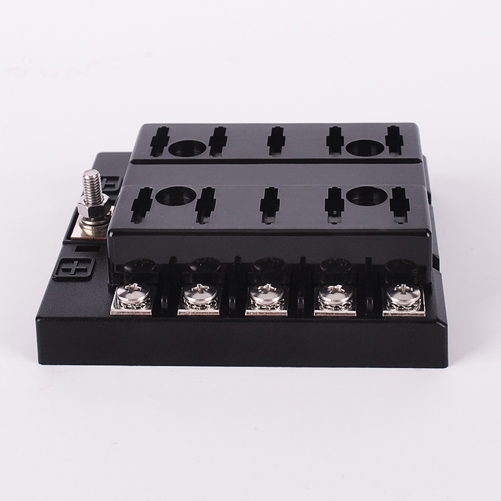 hight resolution of fuse box holder terminal bar kit 10 way middle blade car ato atc van truck 6v 12v 2a 1 3a 1 5a 7 5a 10a 15a 20a 25a 30a 35a in fuses from automobiles