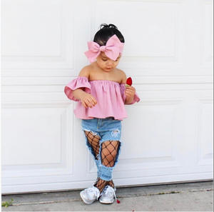 Costume Baby-Girl Kids Fashion BIG HOT High Stockings Tights Fishnet Small-Size INS Medium