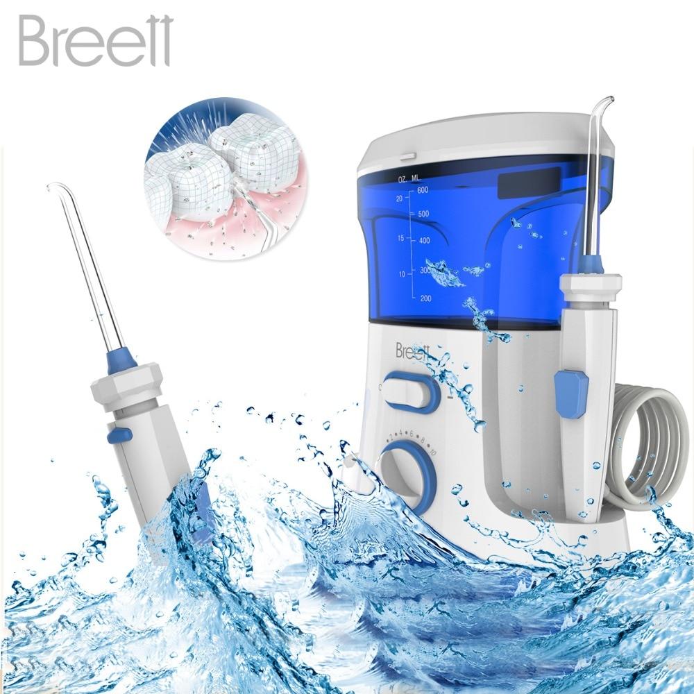 Dental Water Flosser Oral Irrigator 7pcs Jet Tips ...
