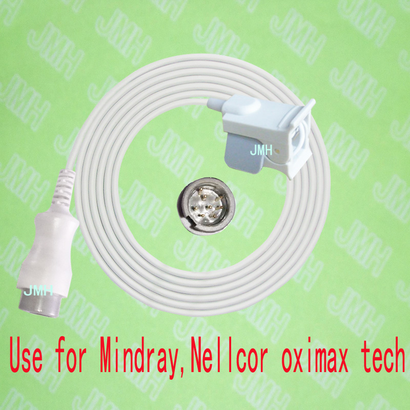 Compatible with Mindray Oximeter Monitor , Pediatric finger clip spo2 sensor,new mindray 8PIN,with Nellcor OXIMAX TECH.