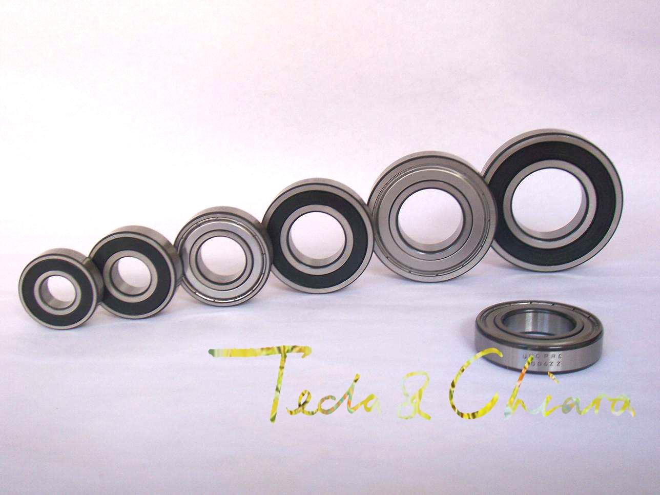 10Pcs 1Lot R8 R8ZZ R8RS R8-2Z R8Z R8-2RS ZZ RS RZ 2RZ Deep Groove Ball Bearings 12.7 X 28.575 X 7.938mm 1/2