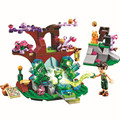 175 pçs/lote Elfos Farran e o Cristal Oco conjunto de Mini Figuras Brinquedos Building Block Compatível com Legoes Melhores Presentes Para crianças