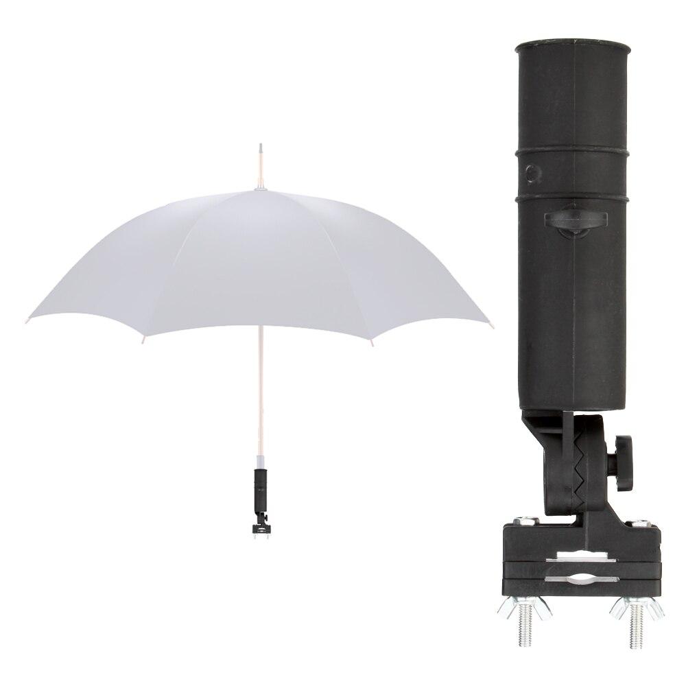Umbrella Stand Golf: Black Golf Club Umbrella Holder Stand Fit Cart Car Trolley