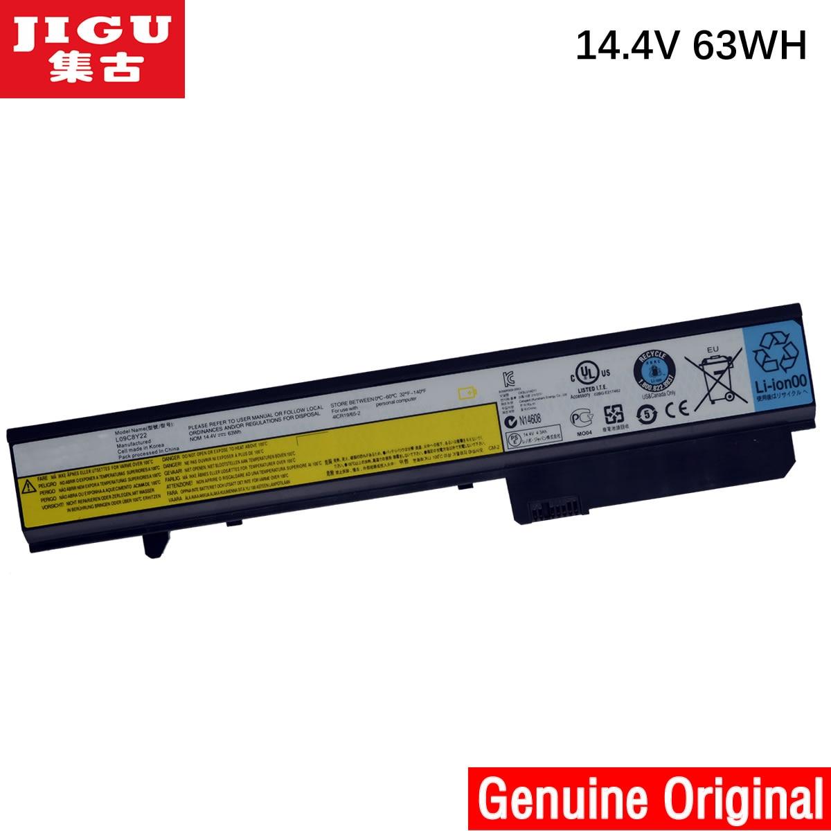 JIGU L09N8T22 L09N8Y22 L09P8Y22 LO9P8Y22 Original laptop Battery For Lenovo IdeaPad U460 14.4V 64WH laptop batteries for lenovo ideapad u350 20028 l09n8p01 l09c4p1 14 8v 8 cell